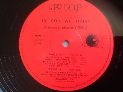Dead Kennedys ' In God We Trust'    Rare French Edition