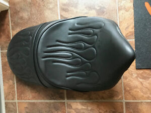 Victory Hammer Leather Flamed Seat