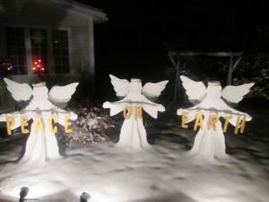 Christmas Lawn Angels