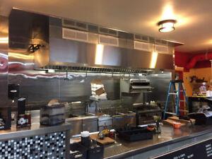 Restaurant Hood Systems Installed