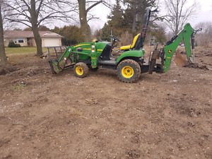 Looking for attachments for Jd 2305 compact tractor  or similar