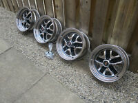 OLDS CUTLASS SALON ALL CHROME 442 STYLE RALLYE RIMS G BODY SET 4