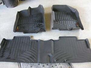 tapis WEATHERTECH POUR FOR EDGE 2013 AVANT ARRIERE