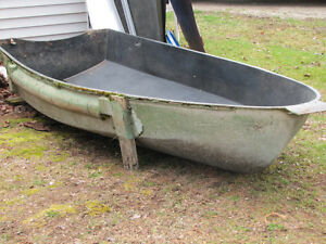9' row boat mold