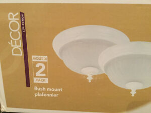 Indoor light fixture home decor flush mount