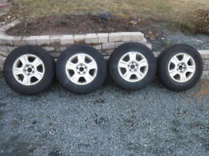 Tires on rims $600.00