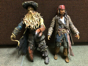 Pirates of the Caribbean Disney Jack Sparrow, Davy Jones Figure