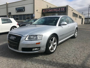 2009 AUDI A8 **IMPECCABLE**  JAMAIS ACCIDENTER