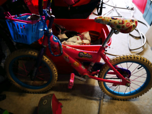 "Shopkins 16"" girls bike"
