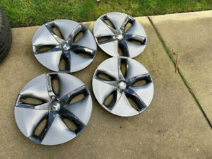 "LIKE NEW TESLA MODEL 3 18"" FACTORY OEM AERO WHEELS COVER"