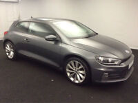 £236.35 PER MONTH 2014 VOLKSWAGEN SCIROCCO 2.0 TDI 150 BMT COUPE DIESEL MANUAL