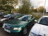 P reg Audi green 5 door