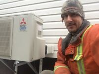 Ductless mini split heat pumps: Signature installs