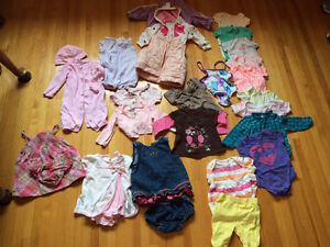 Baby Girl Clothes ( 6 - 12  months )
