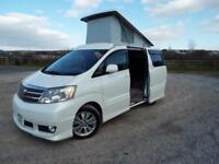 TOYOTA ALPHARD Camper Conversion 2004 Petrol Automatic in White