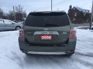 2008 TOYOT HIGHLANDER AWD NAVIG LEATHER AUTO CERTIFIED & E-TEST London Ontario image 4