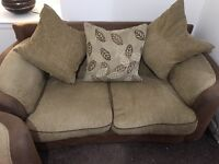 3 seater , 2 seater and storage footstool