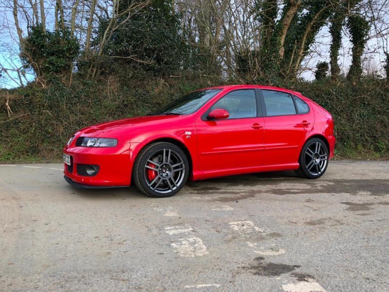 2006 55 seat leon cupra r 225 mk1 emocion red only 51000 miles 1 previous owner in penryn. Black Bedroom Furniture Sets. Home Design Ideas