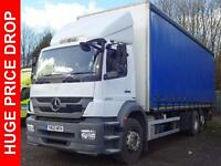 2012 Mercedes-Benz Axor 2529L Distribution Trim Extended Day Cab Package Diesel