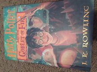 Harry Potter American Hardcovers, 4, 5, 6