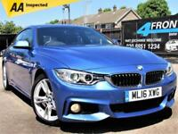 2016 BMW 4 SERIES 420I M SPORT GRAN COUPE AUTOMATIC PETROL COUPE PETROL