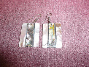 HANDMADE large shell earrings - only $12 (from Cuba!)