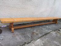 School bench vintage gym garden hall can deliver