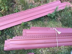 Free siding must go today