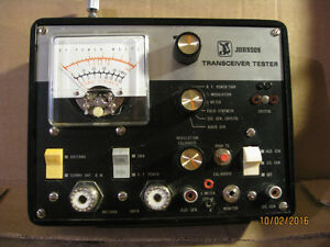 RARE JOHNSON TRANSCEIVER TESTER HAM RADIO OR CB RADIO Edmonton Edmonton Area image 1