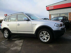 BMW X3 2.0d 2005 SE FULL LEATHER LOW MILAGE NEW TURBO JUST FITTED
