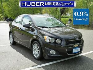 2013 Chevrolet Sonic Sunroof/Bluetooth