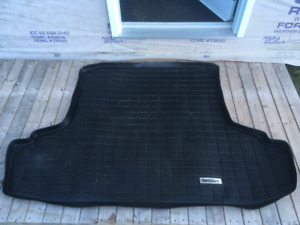 Rubber carpet for trunk ...  Nissan Maxima