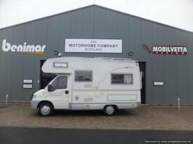 Mobilvetta Top Driver 57 six berth motorhome for sale