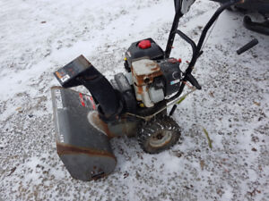 9 HP Craftsman electric start snowblower, needs a carb