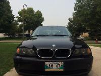 2005 BMW 3-Series 325i Sedan BLACK