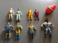 Ghostbusters Vintage Figures Lot of 9 toys figure - Peter, Ray