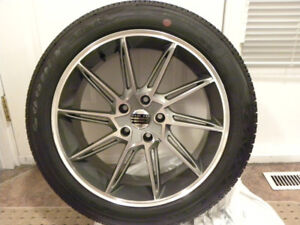 Phat Kat F9009 Wheels with New Goodyear Eagle LS2 Tires