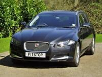 Jaguar XF 2.2 D Luxury Sportbrake DIESEL AUTOMATIC 2014/14