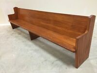 Church Benches - 3 Types For Sale