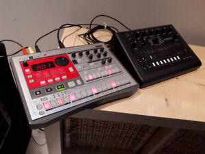 Acid Party Package!  KORG ER-1 & x0xb0x.  Drum Synth & tb 303