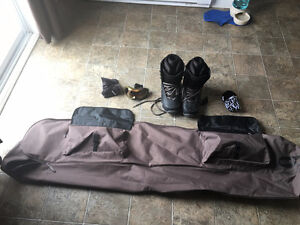Never Used Snowboard Along With Never Worn Gear For Sale!