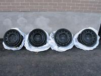 16 inch Winter Rims and Weathertech floor liners.