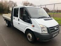2008 Ford Transit 2.4TDCi Crewcab LWB COMPLETE WITH M.O.T AND WARRANTY