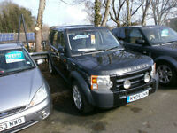 Land Rover Discovery 3 2.7TD V6 ( 7st ) 2005MY cheap tax FSH DRIVES WELL