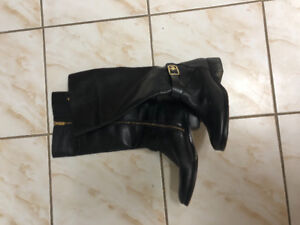 Michael Kors leather boots for $110
