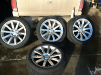 20 inch SRT8 Rims with Pirelli Snow and Ice Tires