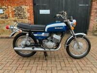 Suzuki T350 1972 Two Stroke Twin Low Mileage Clean Matching Numbers Bike