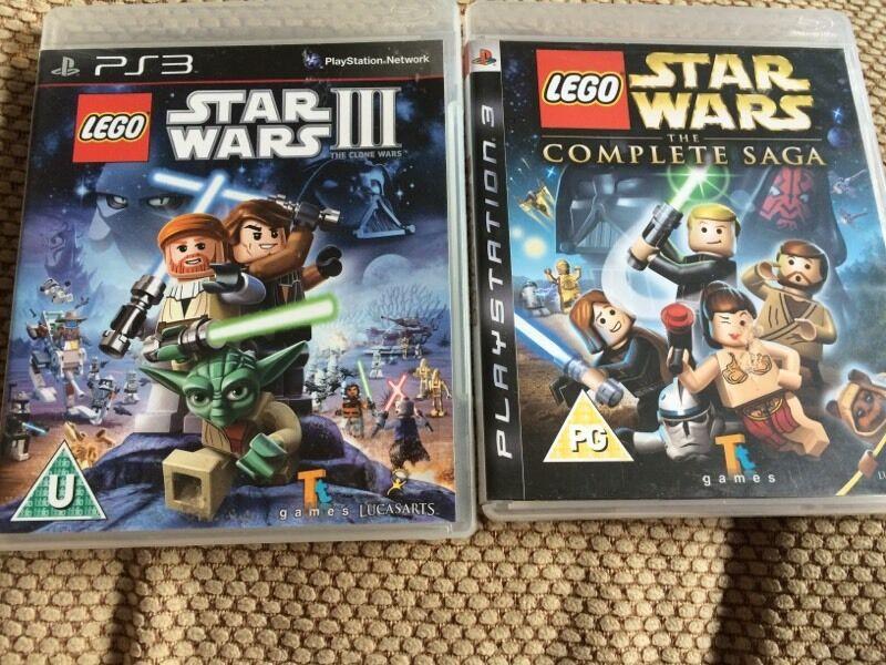 Lego Games For Ps3 : Ps lego star wars games in birkenhead merseyside gumtree