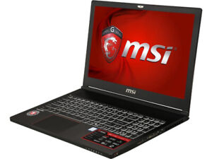 MSI GS63VR STEALTH PRO 15.6in. Notebook - 4K Display GTX 1060 i7