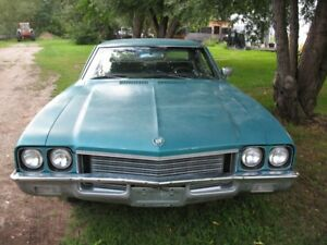 1972 BUICK SKYLARK ALL NUMBERS MATCHING